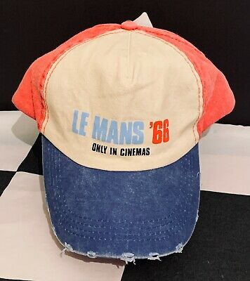 Official Licensed Le Mans '66 1966 Baseball Cap Hat New Ford Gt40 Ken Miles Gulf • 12.50£
