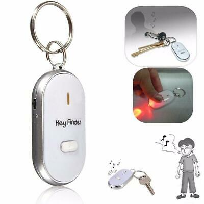 Lost Key Finder Whistle Flashing Beeping Locator Remote Chain LED Sonic Torch UK • 2.59£