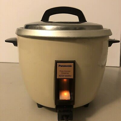 £28.39 • Buy Vintage Panasonic Rice Cooker Food Steamer 10 Cup TESTED