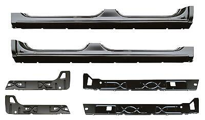 $525 • Buy Rocker Panel Inner Rocker Kit For 02-07 Chevy Silverado Sierra Tahoe Crew Cab