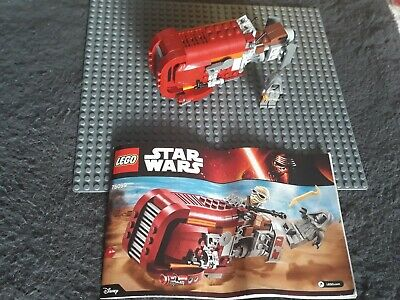 Lego Set 75099 Star Wars. Reys Speeder.  No Rey, Box Or Stickers  • 6.99£