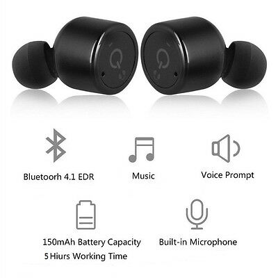 $ CDN32.97 • Buy Wireless Headphones Bluetooth Earbuds For IPhone X 8 7 6S SE Samsung Note 20 S10