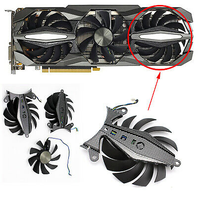AU13.12 • Buy Replace Cooling Fans For GTX 1060 1070 1070Ti 1080 Plus OC GA92S2U Graphics Card