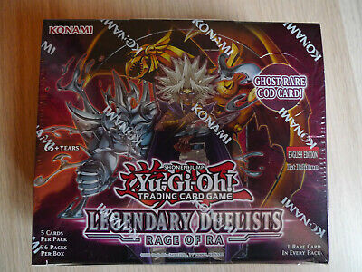 Legendary Duelists: Rage Of Ra Booster Box * 1st Edition * Sealed * Yu-gi-oh • 90£