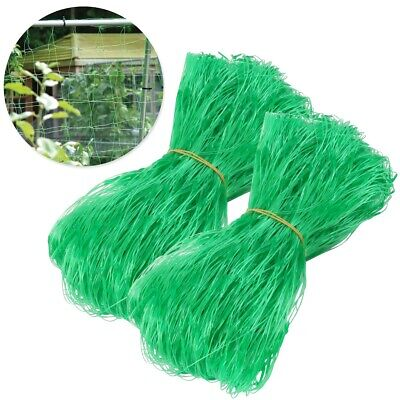 £6.98 • Buy 2x PEA & BEAN SUPPORT NETS Garden Climbing Crops Vegetable Patch Protective Mesh