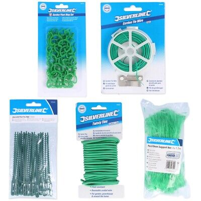 £11.25 • Buy Choose GARDENING SUPPLIES Netting Plant Rings Twisty Ties Growth Train Support