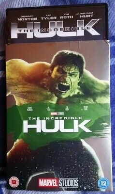 The Incredible Hulk Dvd 2008 With Limited Edition O-ring  Slipcover/sleeve. New • 25.99£