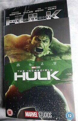 The Incredible Hulk Dvd 2008 With Limited Edition O-ring  Slipcover/sleeve. New • 39.99£