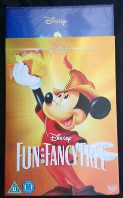 Disney Dvd Fun And Fancy Free With Limited Edition O-ring Slipcover. New&sealed • 15.99£