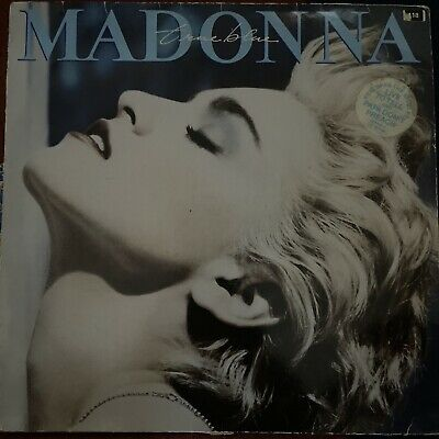 Madonna True Blue LP Vinyl Album • 1.20£