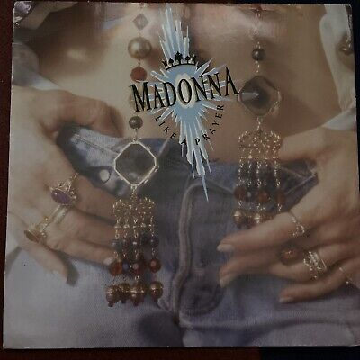 Madonna Like A Prayer Vinyl  • 2.60£