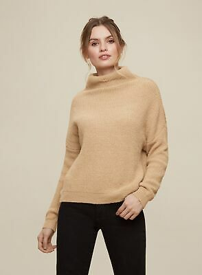 £10.99 • Buy Dorothy Perkins Womens Camel Slouchy Batwing Sleeve Jumper Sweater Pullover Knit