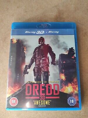 Dredd (3D Blu-ray, 2013) Perfect Condition Free Postage • 4.50£