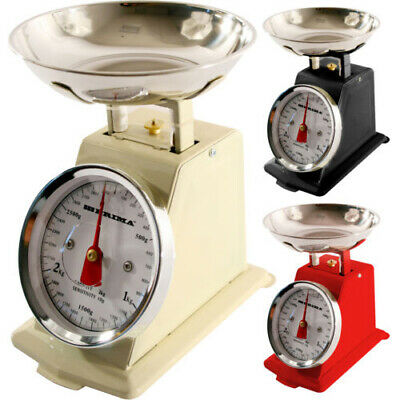 £11.49 • Buy New 3kg Tradition Kitchen Weighing Scales Metal Baking Cooking Mechanical Food