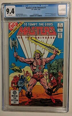 $125 • Buy Masters Of The Universe 1 CGC 9.4