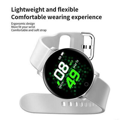 AU16.51 • Buy Smart Watch Sports IP67 Blood Pressure Heart Rate Monitor For IO X9 L8F2 E2H1