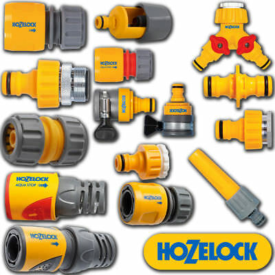 Hozelock Quick Connect Easy To Use Outdoor Hose Connector Various Types & Sizes • 6.39£