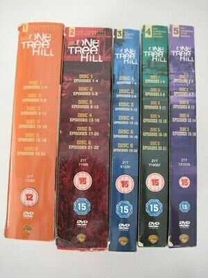 One Tree Hill Complete Seasons 1 - 5 Dvd Collection Boxset • 39.99£
