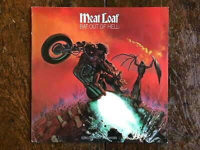 AU30 • Buy Meatloaf  Bat Out Of Hell  Australian Pressing Epic Label VG+ Ex Condition