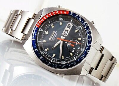 $ CDN495.85 • Buy 1972 Seiko 6139-6002 Chronograph Automatic Watch.
