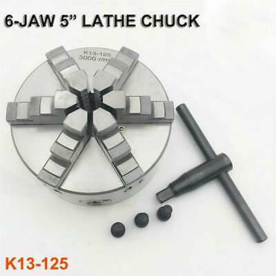 AU166.66 • Buy 6-jaw 5  Lathe Chuck 125mm Self-Centering 3000rpm Metalworking Clamp Chuck