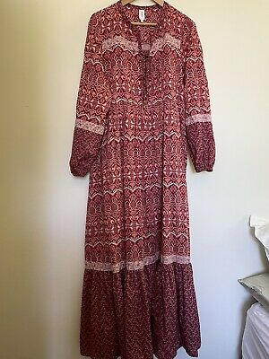 AU75 • Buy Tigerlily Size 14 Maxi Dress Stunning Immaculate Condition
