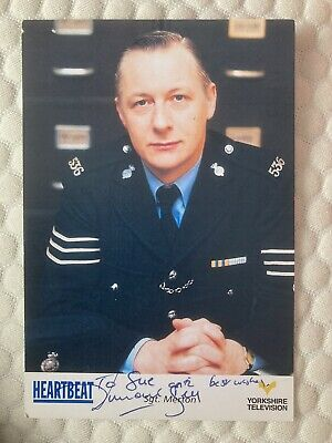 Heartbeat Duncan Bell As Sgt Merton Hand Signed Original Cast Card • 2.75£