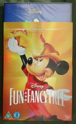 Disney Fun And Fancy Free (DVD, 2002, Live Action / Animated) With Slipcover.  • 9.99£