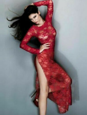 £9.95 • Buy New Ann Summers Red Sheer Long Maxi Dress Gown - Sexy Dress Up - Boxed Glamour