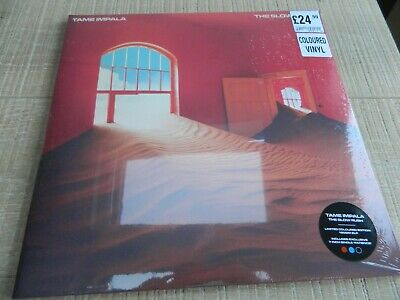 TAME IMPALA - The Slow Rush HMV Exc 7  Patience Red/blue Vinyl 1000 Only Sealed • 95£