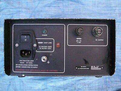 Military Radio Racal Power Supply Unit • 25£