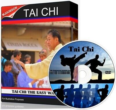 Learn Tai Chi Dvd Beginners Guide Meditation, Practice, Exercise • 4.95£