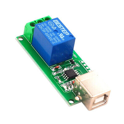 £4.99 • Buy 5V USB Relay Module 1 Channel Computer Control Relay Switch PC Intelligent