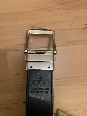 Burberry Check Leather Reversible Belt. Size 100. Length 40. • 100£