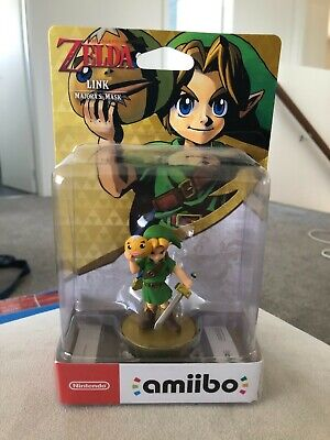 AU90 • Buy Link Majora's Mask Amiibo - Zelda Breath Of The Wild - AUS - Brand New