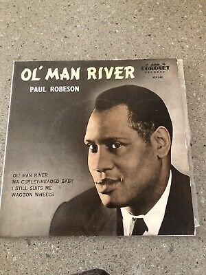 "AU5 • Buy Old Man River Paul Robeson 7"" Vinyl"