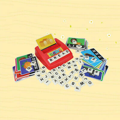 AU21.47 • Buy 1 Set Literacy Fun Game Words Learning Toys For Toddlers Children
