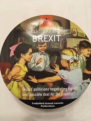 Ladybird BREXIT Simpkins Travel Sweets Collection Storage Tin. Empty- No Sweets • 3.50£