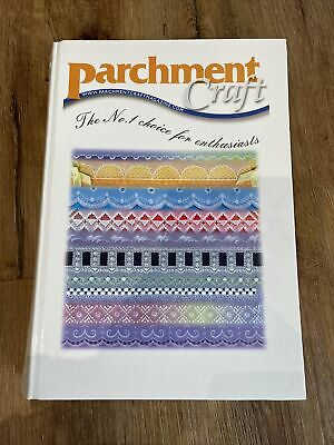 Parchment Craft Folder And 12 Magazines April 2006 To March 2007 • 24£