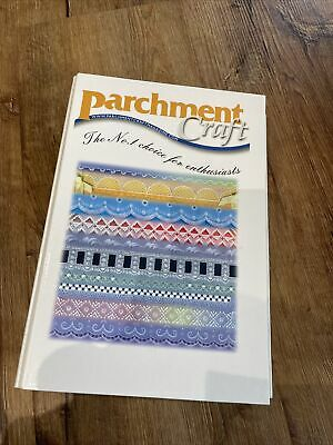 Parchment Craft Folder And 12 Magazines April 2007 To March 2008 • 24£