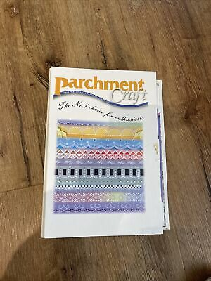 Parchment Craft Folder And 12 Magazines April 2008 To March 2009 • 24£