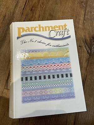 Parchment Craft Folder And 11 Magazines April 2009 To Jan 2010 Plus Special Edit • 24£