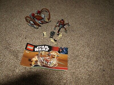 Lego Star Wars Set 7670 Hail Fire Droid And Spider Droid • 19.50£