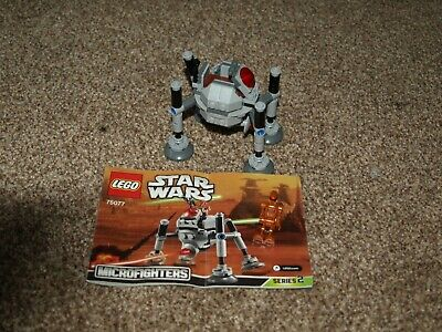 Lego Star Wars Set 75077 Mircofighter Series 2 Homing Spider Droid • 7.50£