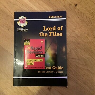GCSE English Lord Of The Flies Text Guide And Flashcards • 5£