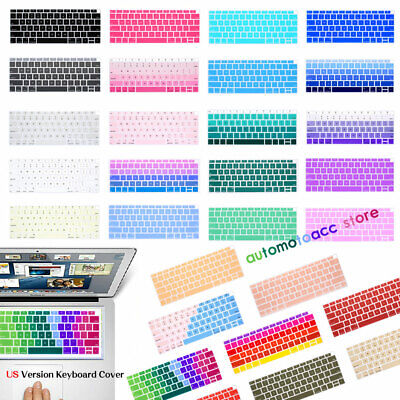 $3.88 • Buy Multicolor Silicone Keyboard Cover For Macbook Pro 16 15.4 Air 11.6 12 13.3 Inch