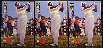 $3.99 • Buy LOT Of 3 1994 UD Pro Files Collector's Choice #204 MICHAEL JORDAN Golf NM-MT+