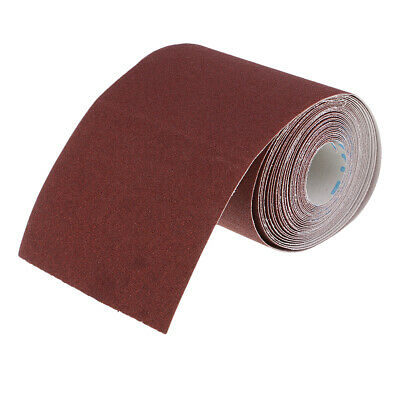 £21.40 • Buy Emery Cloth Roll Polishing Sanding Paper For Metalworking 120Grit 110mm Wide