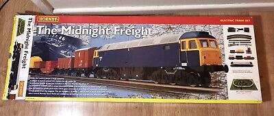 Hornby  R1083 Class 47 'The Midnight Freight' Electric Train Set • 55£
