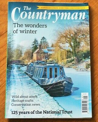 The Countryman Magazine January 2020 Otters, Heritage Crafts, Conservation News • 10£